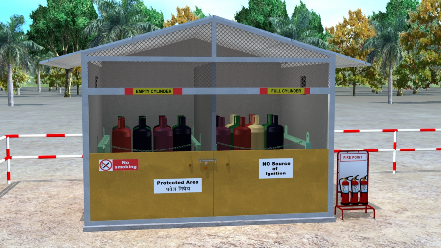 Guidelines for Safe Storage of Compressed Gas Cylinders