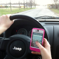 Avoide mobile while Driving
