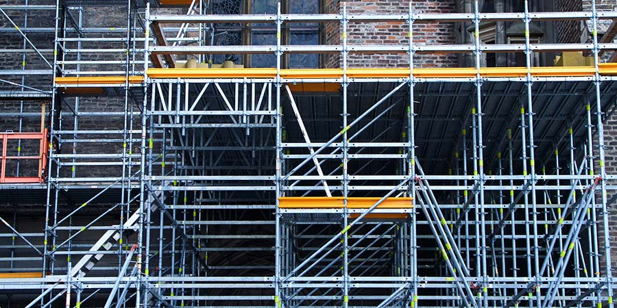 ring- lock scaffolding