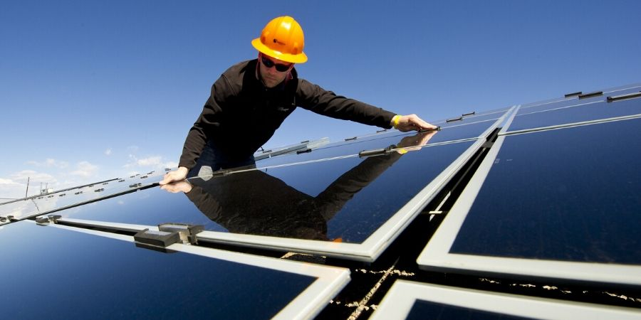 Emphasizing permit processes for solar industry