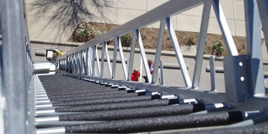 Getting a grip on ladder safety