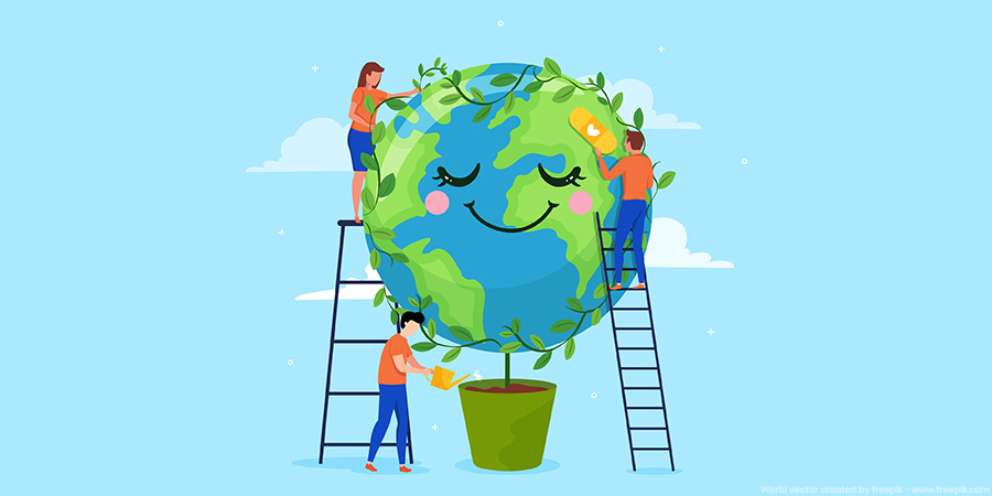 Wish to help the planet? Lead from home