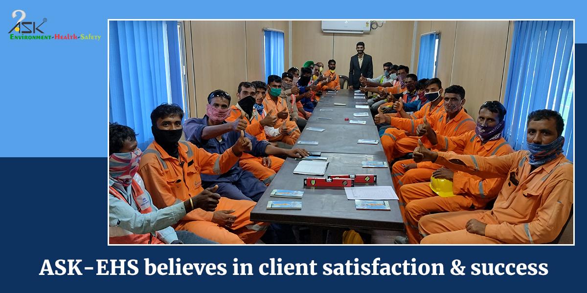 Ask ehs client satisfaction